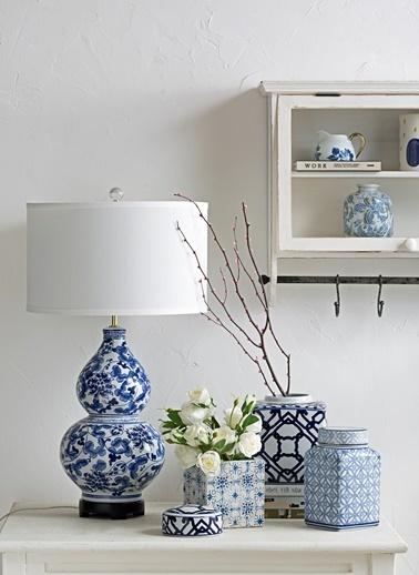 Warm Design Dekoratif Saksılık Mavi